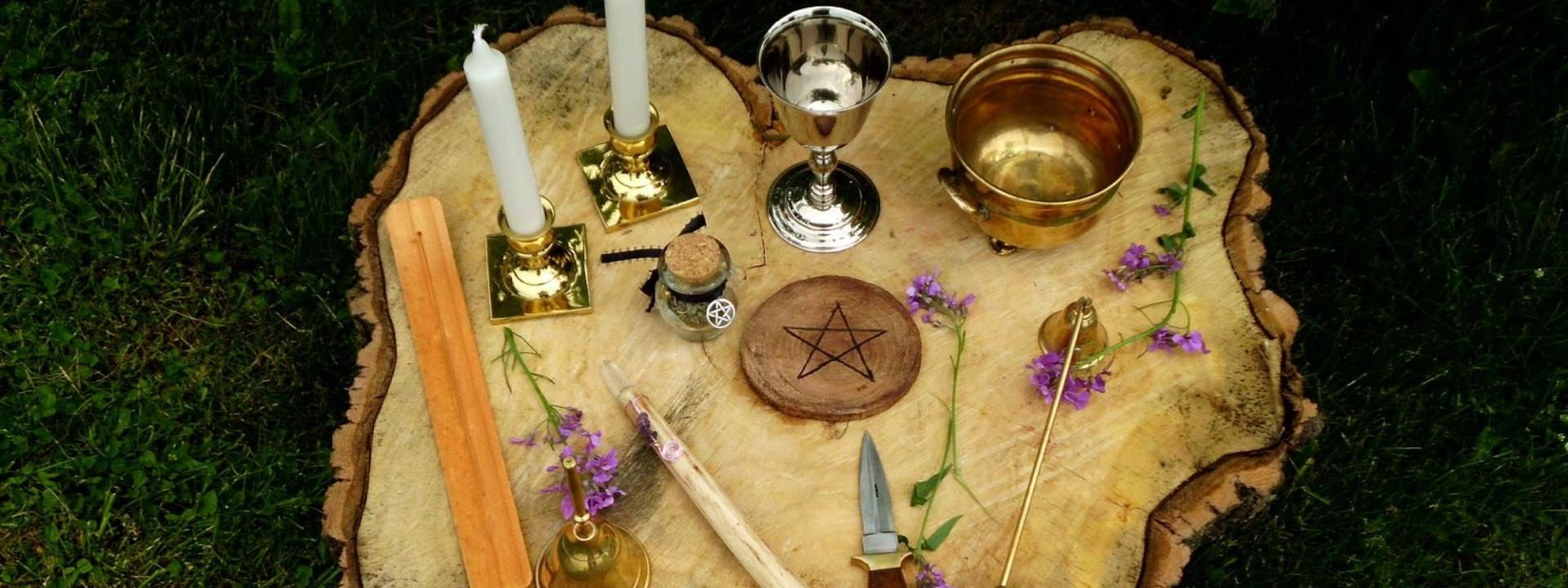 Викканский алтарь